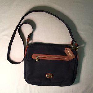 Coach Nylon Navy Crossbody Bag